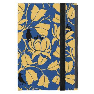 Voysey Blackbirds Birds Tulip Tree Chintz Pattern iPad Mini Case