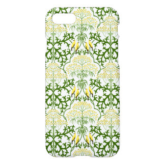Voysey Fool's Parsley Yellow Birds Arts and Crafts iPhone 7 Case