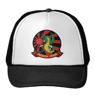 vp-4 skinny dragon trucker hat