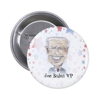 VP Joe Biden caricature Buttons