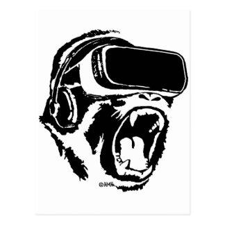 VR Gorilla Postcard