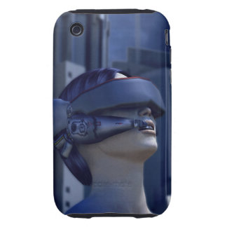VR IN THE CITY iPhone 3 TOUGH CASES