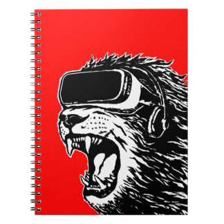 VR Lion Notebook