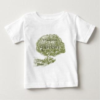 Vriksasana ~Yoga Tree Pose Baby T-Shirt