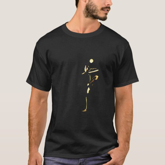 Vrkasana 'Tree Pose' - Dark Colours T-Shirt