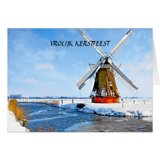 VROLIJK FERSTFEEST (MERRY CHRISTMAS) GREETING CARD