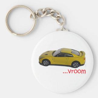 Vroom...fast car keychains
