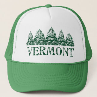 VT Winter Evergreens Trucker Hat