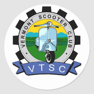 VTScoot Round Sticker