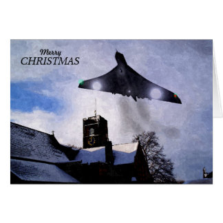 Vulcan Bomber Christmas Card