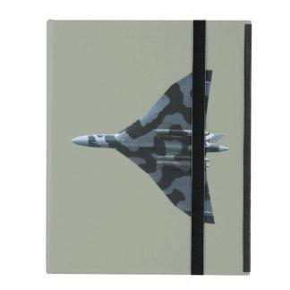 Vulcan bomber in flight iPad case