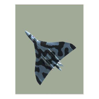 df8269e6cd14 RAF Vulcan Bomber Postcard | Zazzle.co.uk