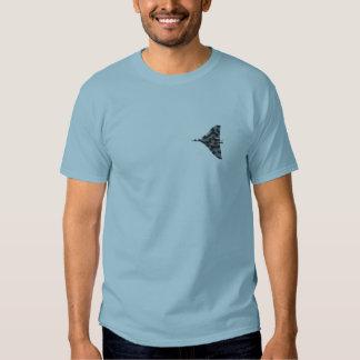 Vulcan bomber in flight shirts