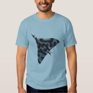 Vulcan bomber in flight tshirt