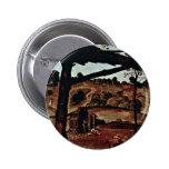 Vulcan (Hephaestus) And Aeolus Detail By Piero 6 Cm Round Badge