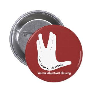 Vulcan Objectivist Button