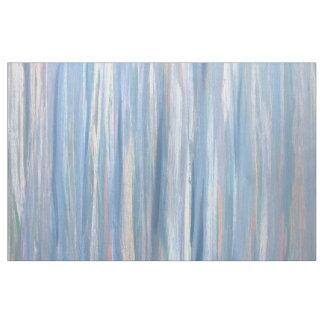 Vulnerable Craft | Modern Blue Peach Silver Stripe Fabric