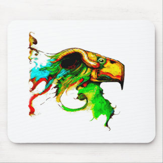 vulture-chicken mouse pad