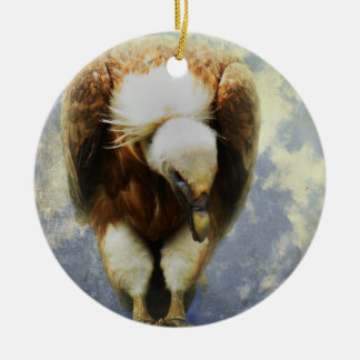 Vulture Christmas Ornament