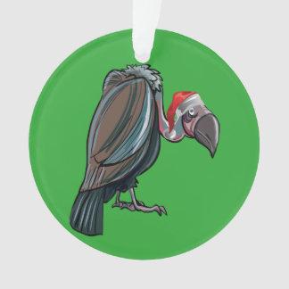 Vulture Christmas Ornament