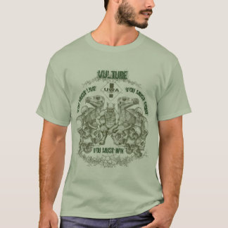 Vulture Fight and Win Tee
