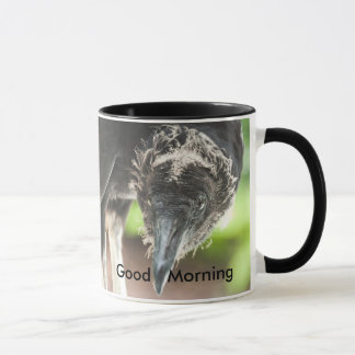 vulture good morning mug