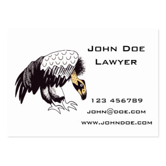Vulture Illustration Pack Of Chubby Business Cards