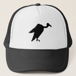 Vulture Silhouette Trucker Hat