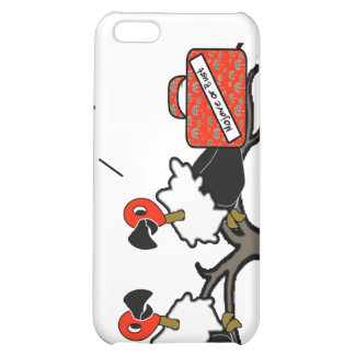 Vultures Carrion Carry-On Luggage Cartoon iPhone 5C Covers