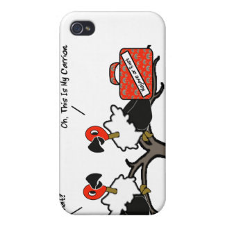Vultures Carrion Carry-On Luggage Cartoon Cases For iPhone 4