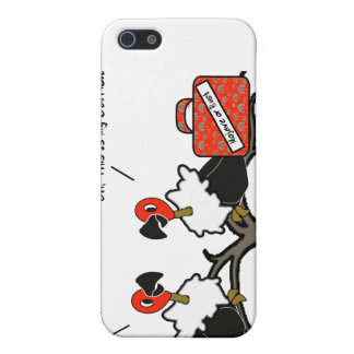 Vultures Carrion Carry-On Luggage Cartoon iPhone 5 Cases