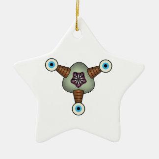 Vuuvzu Squashy Creature Ceramic Star Decoration