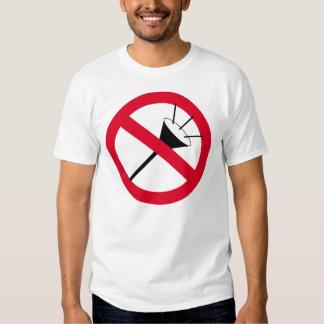 vuvuzela-verboten2 tee shirts