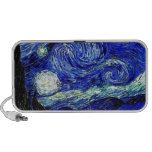 vVan Gogh Starry Night Fine Art Notebook Speaker