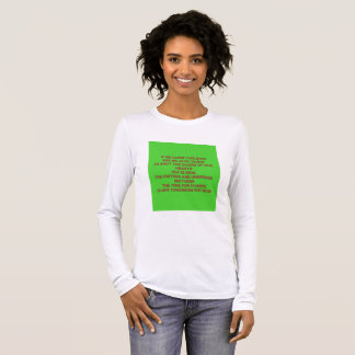 VVF(Vesico virginal fistula) is real Long Sleeve T-Shirt