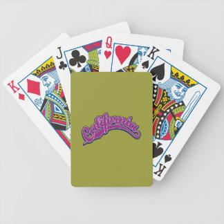 vViolet on Blue Poker Cards