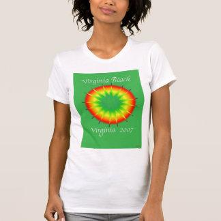 vVIRGINIA BEACH, 2007 greenweirdksmall T Shirt