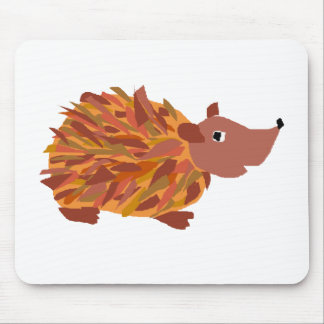 VW- Funny Colorful Hedgehog Mouse Pad