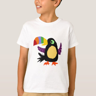 VW- Funny Toucan Bird Primitive Art T-Shirt