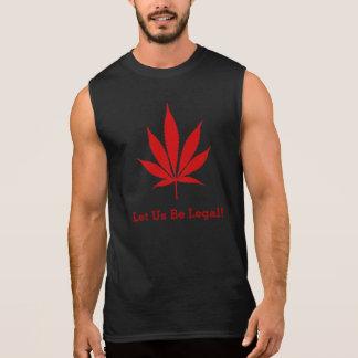 """W02 """"Let Us Be Legal!"""" Pot Leaf T-Shirt"""