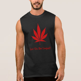 "W02 ""Let Us Be Legal!"" Pot Leaf T-Shirt"