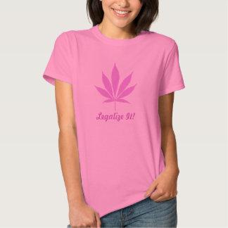 W11 Legalize It! Pot T-Shirt