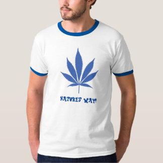 W14 Nature's Way! Pot Leaf T-Shirt