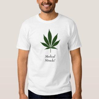 "W26 ""Medical Miracle"" Pot Leaf T-Shirt"