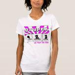 w3 rul0r j00 sux0r! f3m4l3 II T-shirts