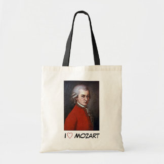 W.A. Mozart Tote Bags