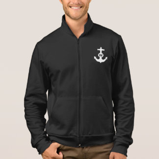 W Anchor Wanchor Insult Funny Gift Jacket