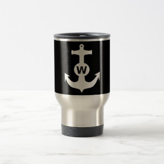 W Anchor Wanchor Insult Funny Gift Travel Mug