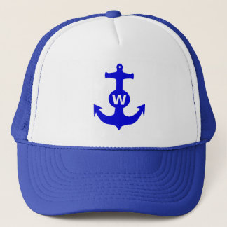 W Anchor Wanchor Insult Funny Gift Trucker Hat