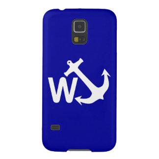 W Anchor Wanchor Joke Funny Gift Galaxy S5 Case
